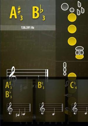 Screenshot Sax KEYS on iPhone