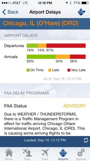 Screenshot FlightView Elite on iPhone