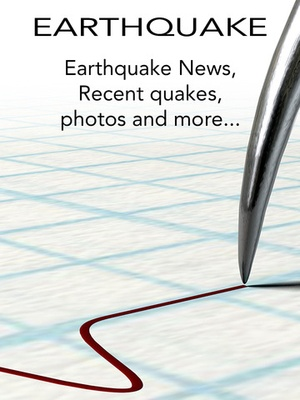 Screenshot Earthquake: International Earth Quake News, Tracker, Alert, Tips, Information, Map & Latest Notifications on iPad