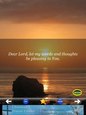 Screenshot Best Daily Prayers & Devotionals FREE! Pray to Jesus for Blessings of Christian and Catholic Men & Women! on iPad