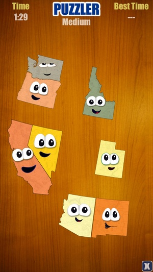 Screenshot Stack the States™ on iPhone