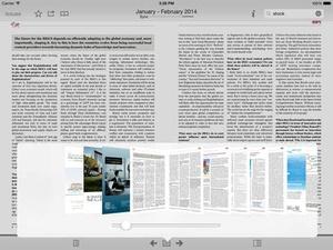Screenshot The World Financial Review on iPad