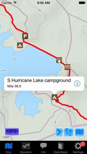 Screenshot The Florida Trail Guide on iPhone