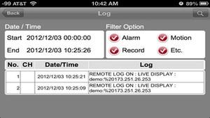 Screenshot GanzView on iPhone