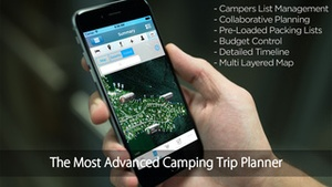 Screenshot Pro Camping Planner on iPhone