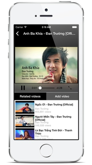 Screenshot Tubemate HD Free on iPhone