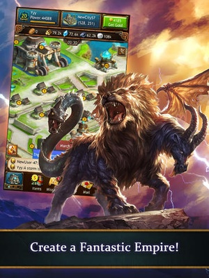 Screenshot Arcane Empires on iPad
