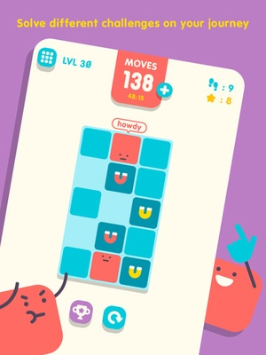 Screenshot Slide The Block on iPad