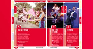 Screenshot The Festival Guide on iPhone