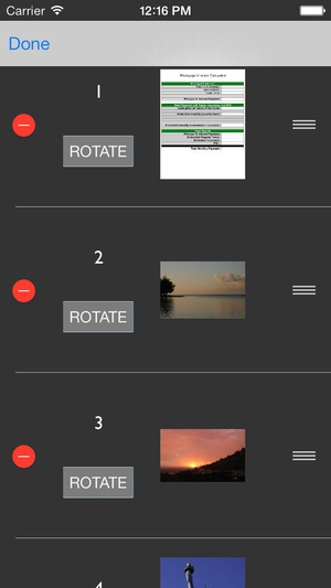 Screenshot Smart Forms on iPhone