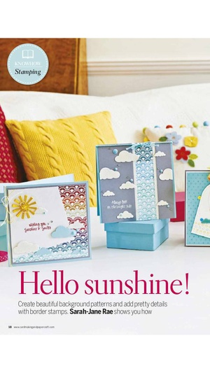 Screenshot Cardmaking & Papercraft magazine: make cards for Christmas, birthdays and special occasions. on iPhone