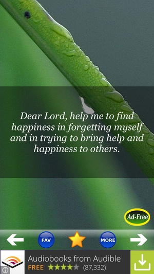 Screenshot Best Daily Prayers & Devotionals FREE! Pray to Jesus for Blessings of Christian and Catholic Men & Women! on iPhone