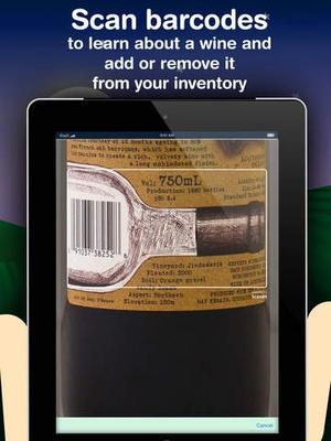 Screenshot Corkz on iPad