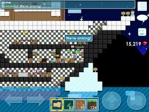 Screenshot Growtopia on iPad