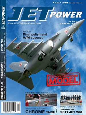 Screenshot JETPOWER MAGAZINE on iPad
