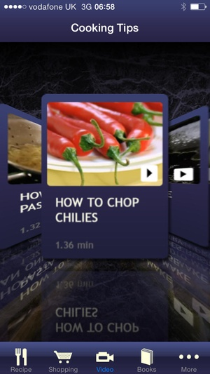 Screenshot Gordon Ramsay Cook With Me on iPhone