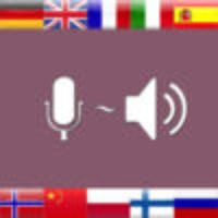 Voice Translator with speech recognition and camera text scanner for 30 languages like English Spanish German Portuguese Russia