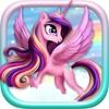 lilla prinsessa Ponny Klä upp Pretty Mode Maker spel för liten flicka PRO