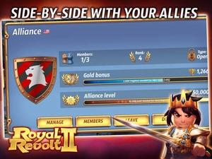 Screenshot Royal Revolt 2 on iPad