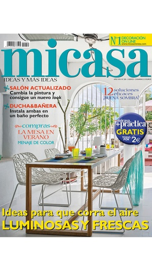 Screenshot MICASA Revista on iPhone