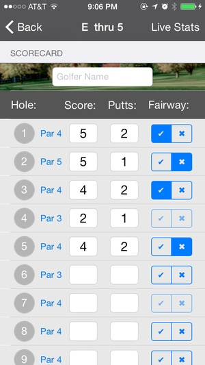 Screenshot Golf GPS Navigator on iPhone
