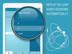 Screenshot End Anxiety Hypnosis on iPad