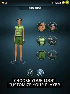 Screenshot Pro Feel Golf on iPad