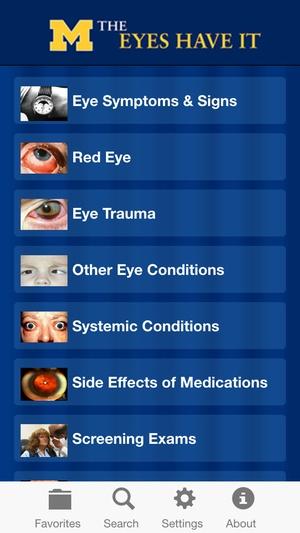 Screenshot EyesHaveIt on iPhone