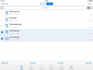 Screenshot Free Video Collect Plus For iOS8 on iPad