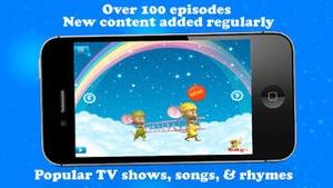 Screenshot BabyTV Mobile on iPhone