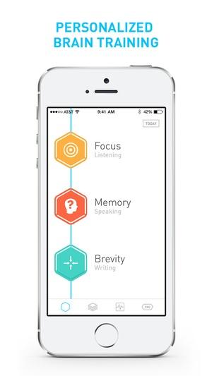 Screenshot Elevate on iPhone