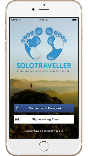 Screenshot SoloTraveller on iPhone