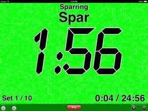 Screenshot UltraTimer on iPad