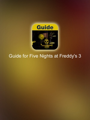 Screenshot Guide for Five Nights at Freddy's 3 on iPad