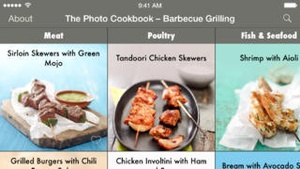 Screenshot The Photo Cookbook on iPhone
