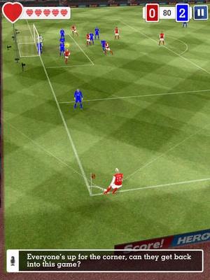 Screenshot Score! Hero on iPad