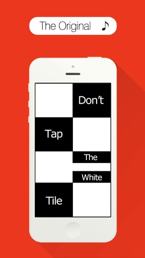 Screenshot Piano Tiles on iPhone