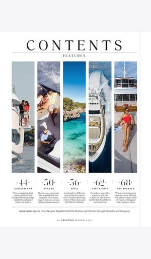 Screenshot Yachting Mag on iPhone