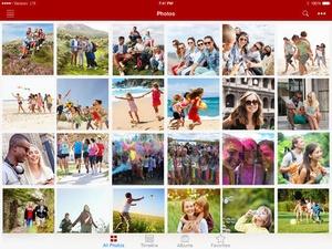 Screenshot Verizon Cloud on iPad