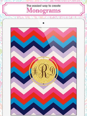 Screenshot Monogram Lite on iPad