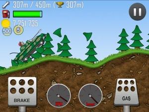 Screenshot Hill Climb Racing on iPad