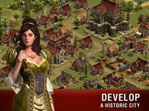 Screenshot Forge of Empires on iPad