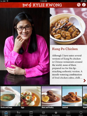 Screenshot Best of Kylie Kwong on iPad