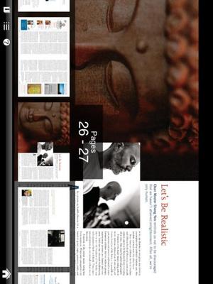 Screenshot Buddhadharma Journal on iPad