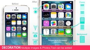 Screenshot iWallpaper Maker Lite on iPhone