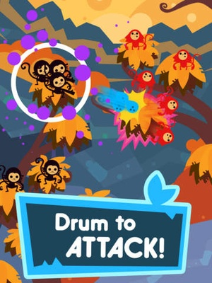 Screenshot Jungle Rumble: Freedom, Happiness, and Bananas ◆ Crazy Rhythm Game! ◆ on iPad