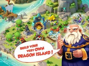 Screenshot Dragon Mania Legends on iPad