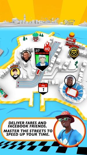 Screenshot Crazy Taxi™ City Rush on iPhone