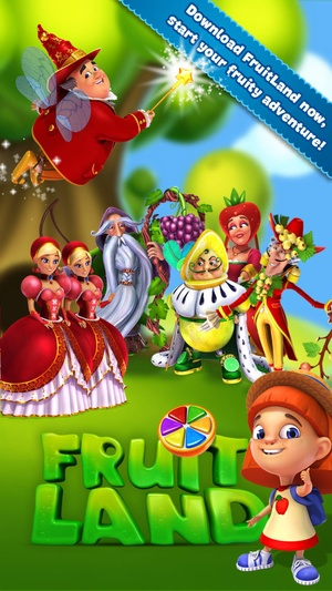 Screenshot Fruit Land  on iPhone