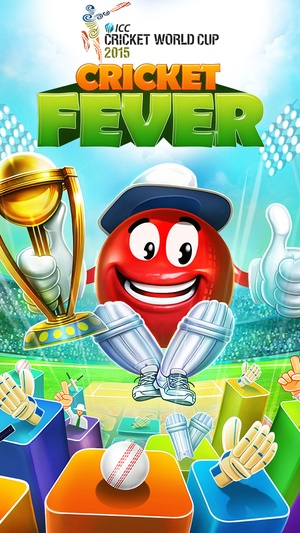 Screenshot ICC Cricket World Cup 2015 Cricket Fever on iPhone